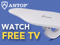 ANTOP Omni Wing AT-417B Dual-band Outdoor HDTV Antenna , complete 360° reception with full RF range coverage. Learn More