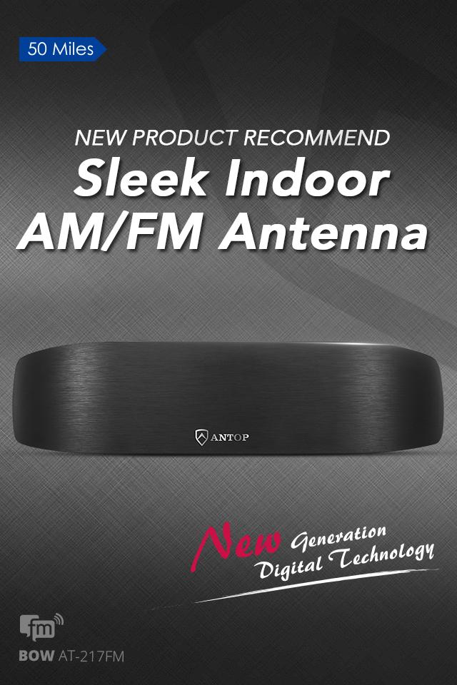 ANTOP Indoor AM/FM Antenna