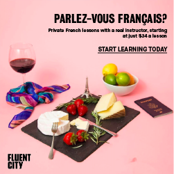 Fluent City French lessons