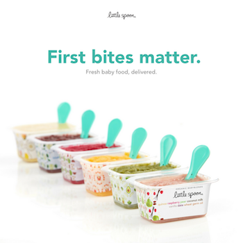 Little Spoon Fresh Organic Baby Food First Bites Matter