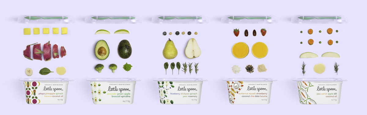Little Spoon Fresh Organic Baby Food First Bites Matter