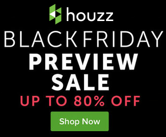Houzz Black Friday Preview Sale - Up to 80% Off