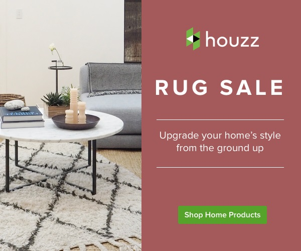 Houzz Rug Sale Banner