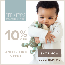 Save 10% off today at Finn + Emma