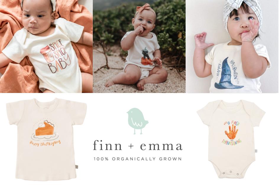 Shop for Autumn Essentials at Finn + Emma