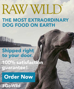 RAW WILD - Best Wild Game Meat Raw Food for Dogs
