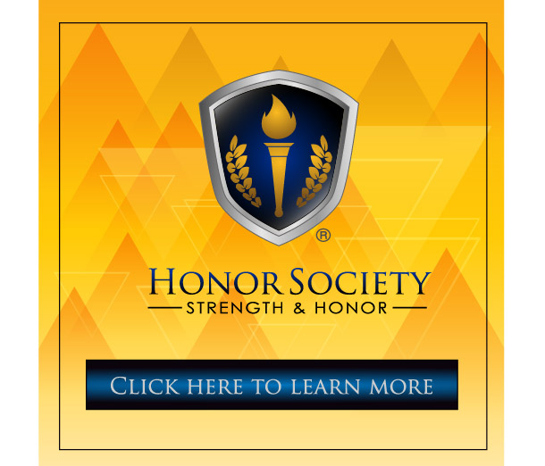 Honor Society Strength and Honor