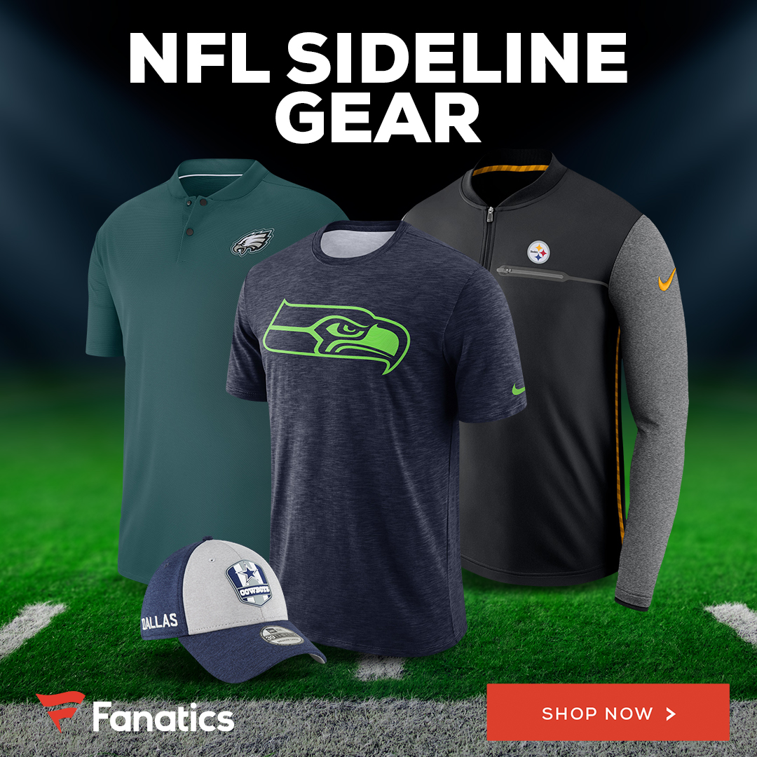 Shop NFL Sideline Gear at Fanatics.com