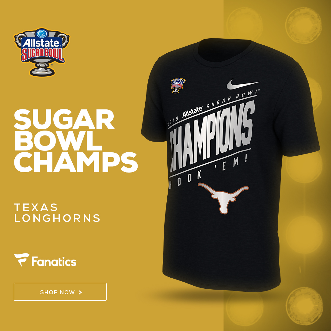 Texas Longhorns Sugar Bowl Champs