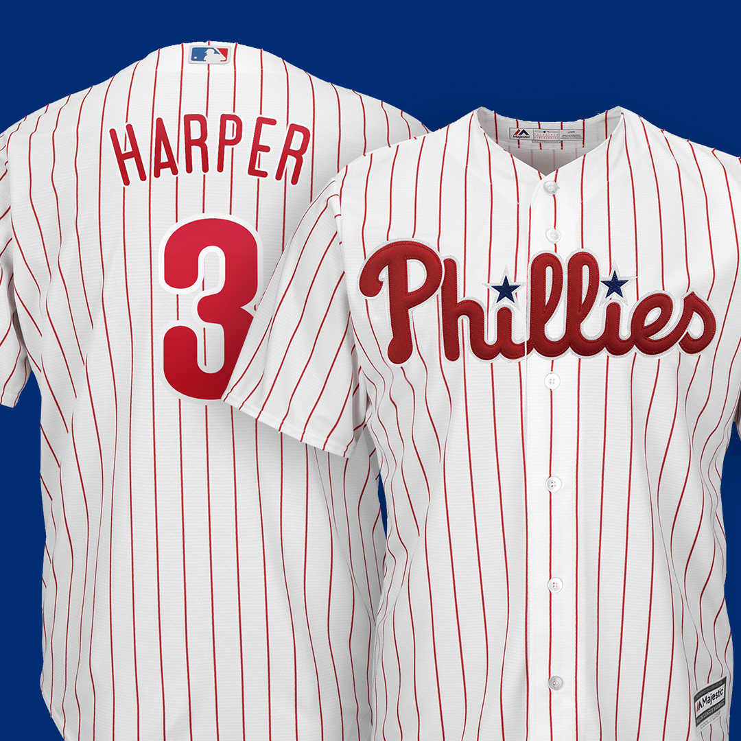 Bryce Harper Phillies Gear