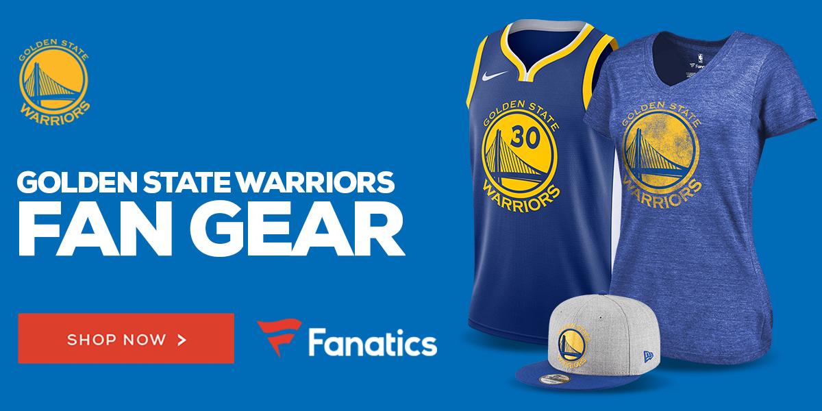 Shop Golden State Warriors Gear at Fanatics.com