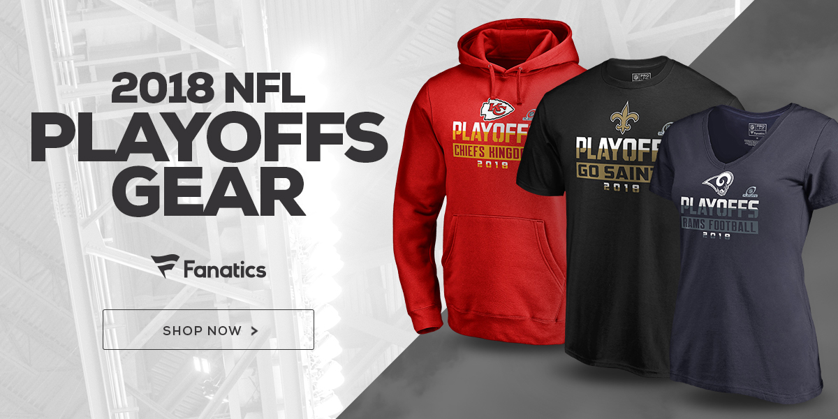 2018 NFL Playoffs Gear