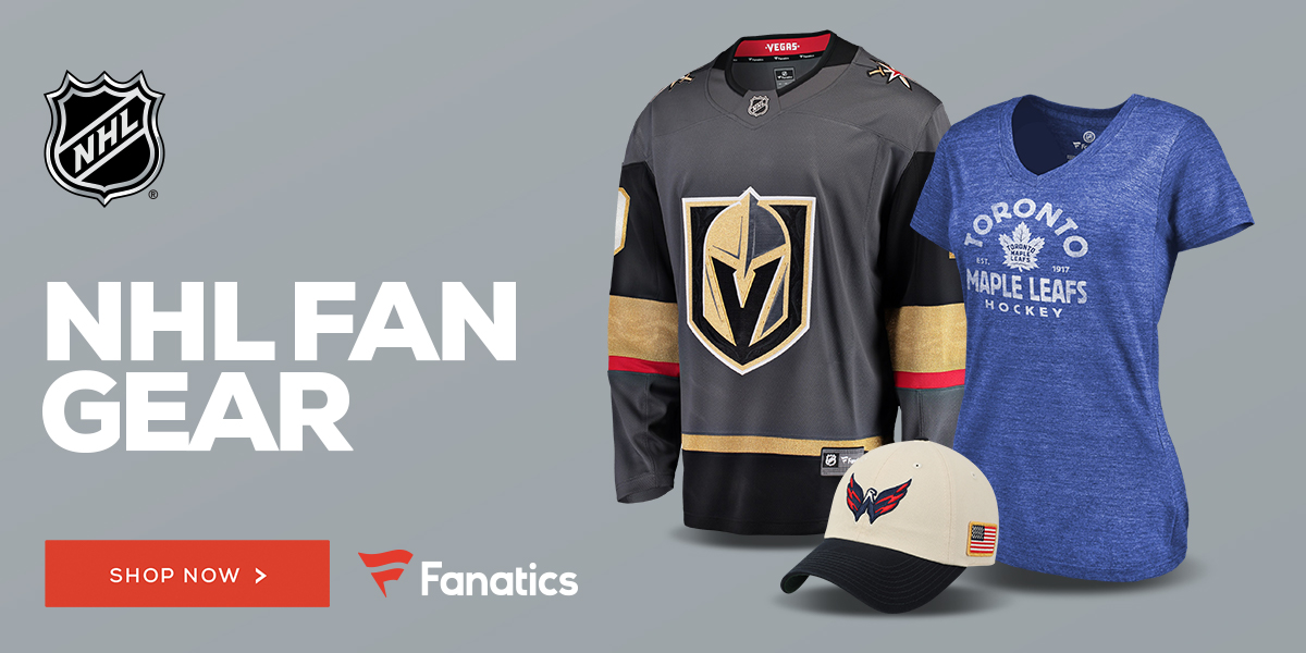 Shop for NHL Gear at Fanatics!