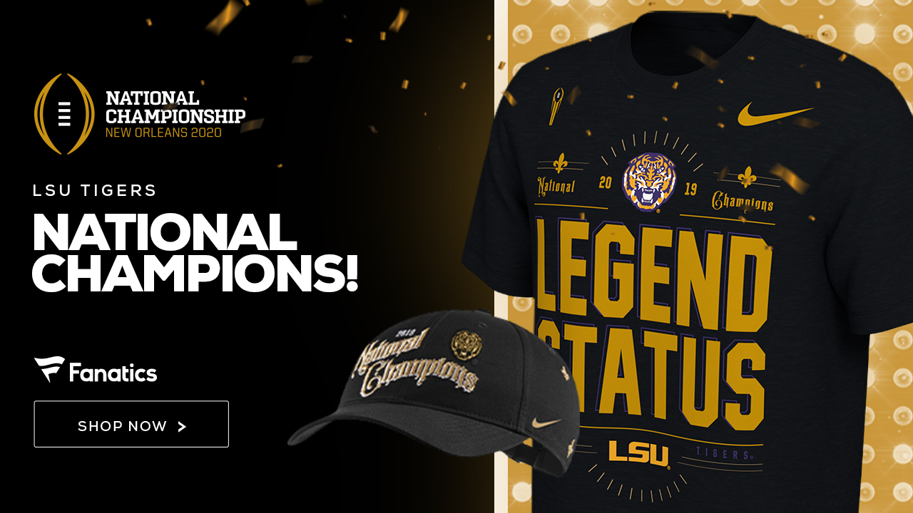 LSU Tigers National Champs