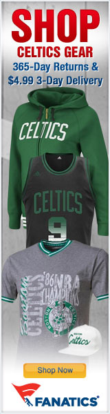 Shop for Official Boston Celtics Team Gear at Fanatics!