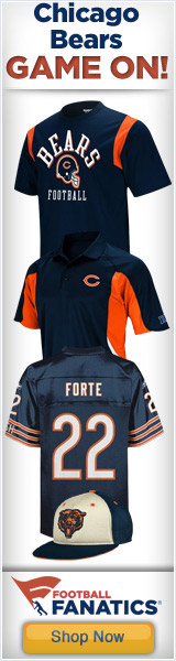 Official 2011 Reebok Chicago Bears Sideline Gear at Football Fanatics