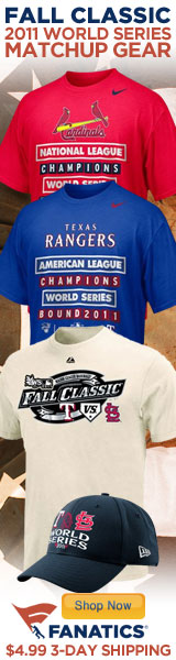 Shop for 2011 MLB Team Gear at Fanatics.com