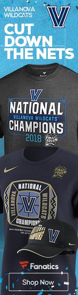 Villanova Wildcats 2018 NCAA Basketball Champs