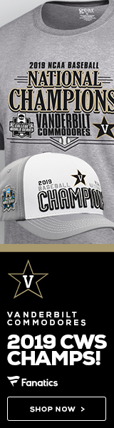 Vanderbilt Commodores 2019 CWS Champs