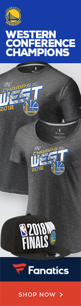 Get your Warriors 2018 Western Conference Champs at Fanatics!