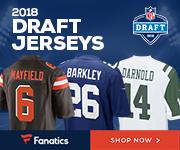 Shop for 2018 NFL Draft Gear at Fanatics.com