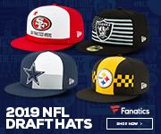 2019 NFL Draft Hats from New Era