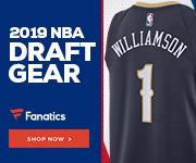2019 NBA Draft Gear at Fanatics