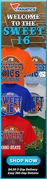 Shop for gear from all 2012 Sweet 16 Basketball Tournament Teams at Fanatics!