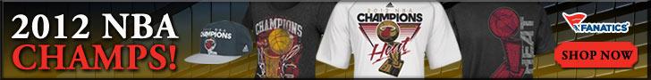 Shop Miami Heat 2012 NBA Champions gear at Fanatics!