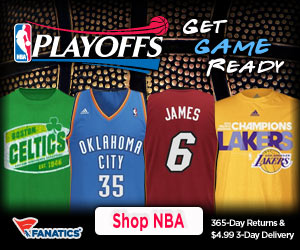 Shop for 2012 NBA Playoff Gear at Fanatics!