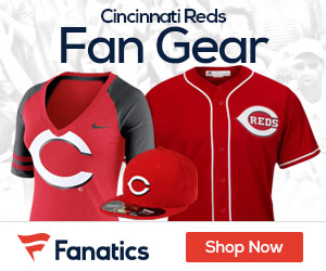 Shop Cincinnati  Reds gear at Fanatics.com!