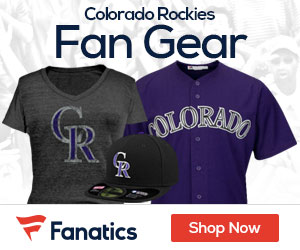 Shop Colorado  Rockies gear at Fanatics.com!