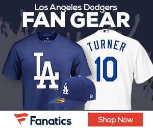 Shop L.A.  Dodgers gear at Fanatics.com!