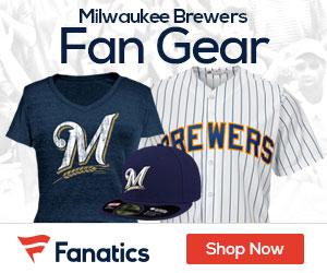 Shop Milwaukee  Brewers gear at Fanatics.com!
