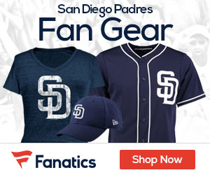 Shop San  Diego  Padres gear at Fanatics.com!