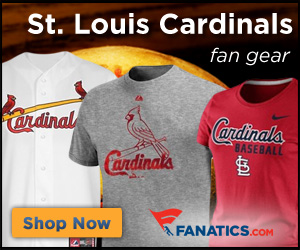 Shop St.  Louis  Cardinals gear at Fanatics.com!