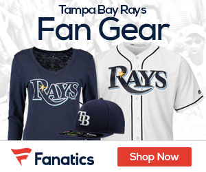 Shop Tampa  Bay  Rays gear at Fanatics.com!