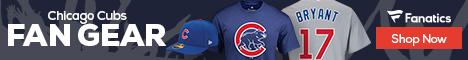 Shop Chicago Cubs gear at Fanatics.com!