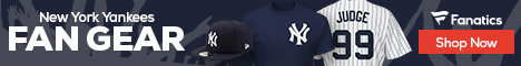 Shop New  York  Yankees gear at Fanatics.com!