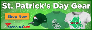 Show your team pride with a shade of green - Shop now at Fanatics.com!