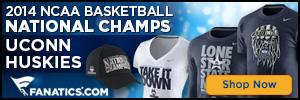 Shop 2014 UConn Huskies National Champ gear at Fanatics.com!