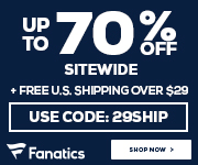 Year End Clearance at Fanatics.com