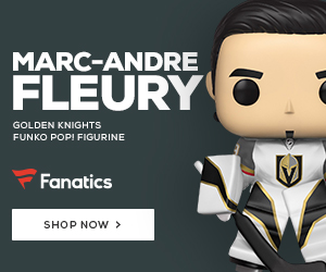 Marc-Andre Fleury Vegas Golden Knights Funko POP Figurine