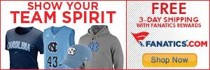 Shop North Carolina Tar Heels gear at Fanatics.com!