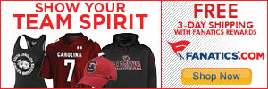 Shop South Carolina Gamecocks gear at Fanatics.com!