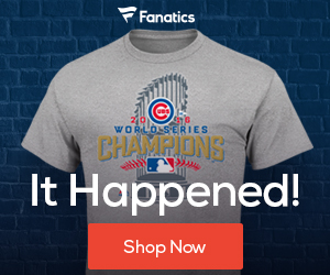 Chicago Cubs 2016 World Series Champions - Fanatics