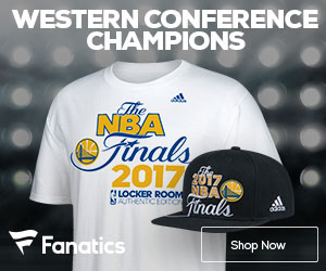 Golden State Warriors 2017 Western Conference Championship Gear