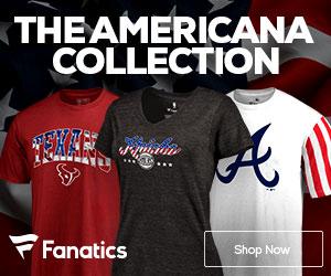 Represent the USA and Americana Fan Gear from Fanatics.com