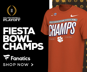 Shop for 2019 Clemson Tigers Fiesta Bowl Champs Fan Gear at Fanatics