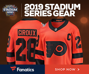 2019 Flyers Stadium Series Gear